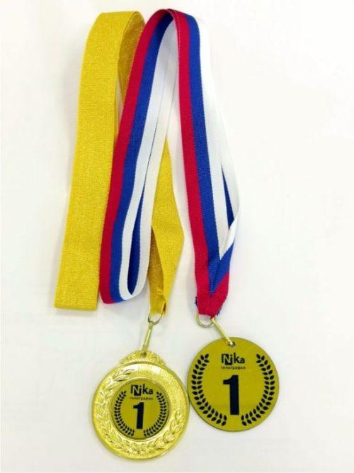 Металлические медали лазерная гравировка