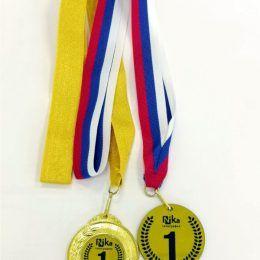 Медаль пластиковая лазерная гравировка