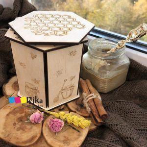коробка для баночки меда