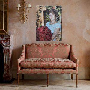 Картина из фотографий в интерьере