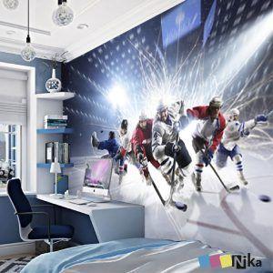 фотообои хоккей