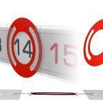 Курсоры для квартального календаря