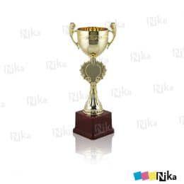 Кубок с чашей H-290 мм с основанием. Золото. Пластик. Без лого