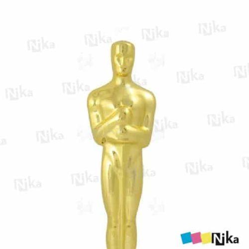 Фигура золото Оскар с основанием H-300 мм