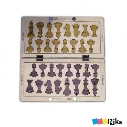 шахматы из фанеры 2