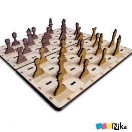Шахматы из фанеры