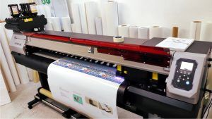 УФ-печать рулонная интерьерная