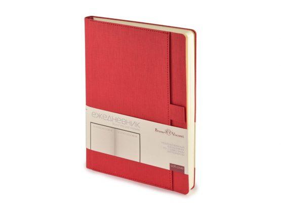 Ежедневник недатированный А5 «Marseille» красный