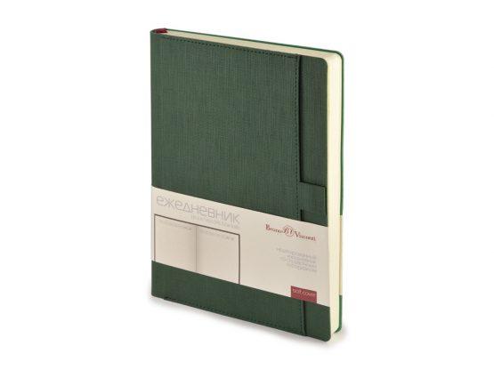 Ежедневник недатированный А5 «Marseille» темно-зеленый