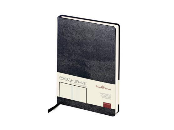 Ежедневник недатированный А5 «Megapolis» черный