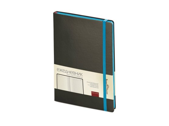 Ежедневник недатированный А5 «Megapolis Soft» черный 2