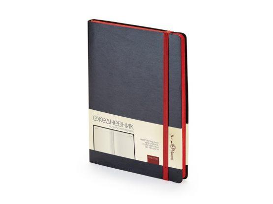 Ежедневник недатированный А5 «Megapolis Soft» черный