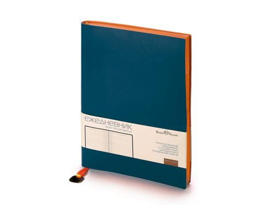Ежедневник недатированный А5 «Mercury» синий