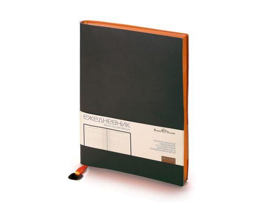 Ежедневник недатированный А5 «Mercury» черный
