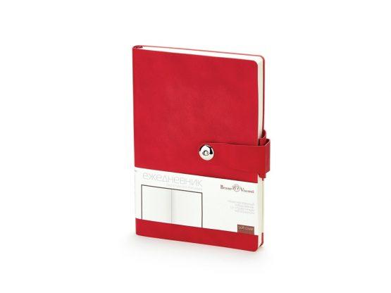 Ежедневник недатированный А5 «Primavera» красный