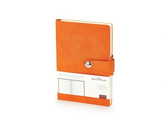 Ежедневник недатированный А5 «Primavera» оранжевый