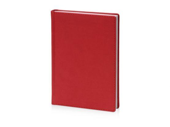 Ежедневник недатированный А5 «Velvet» красный