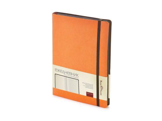 Ежедневник недатированный А5 «Megapolis Soft» оранжевый